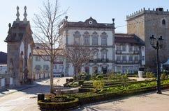 Ciudad vieja Barcelos Portugal Foto de archivo libre de regalías