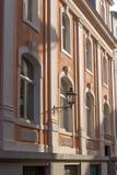 Ciudad vieja Bayreuth de la fachada Imagen de archivo libre de regalías