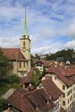 Ciudad vieja, Berna, Suiza Foto de archivo libre de regalías