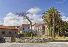 Ciudad vieja Budva montenegro Imágenes de archivo libres de regalías
