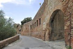 Ciudad vieja Certaldo Imagenes de archivo