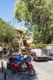 Ciudad vieja Chania de la calle Fotografía de archivo