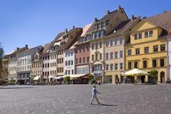 Ciudad vieja de Altenburgo Imagen de archivo libre de regalías
