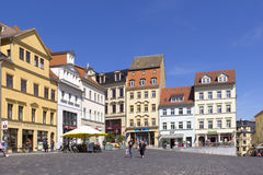 Ciudad vieja de Altenburgo Fotos de archivo