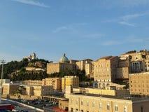 Ciudad vieja de Ancona Fotos de archivo