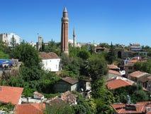 Ciudad vieja de Antalya Foto de archivo libre de regalías