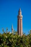 Ciudad vieja de Antalya, mezquita vieja de la ciudad de Antalya foto de archivo