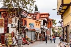 Ciudad vieja de Antalya, Turquía foto de archivo