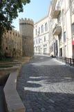 Ciudad vieja de Baku Fotos de archivo