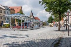 Ciudad vieja de Bayreuth Imágenes de archivo libres de regalías