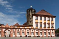 Ciudad vieja de Bayreuth - castillo viejo Imagen de archivo