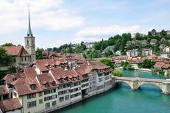Ciudad vieja de Berna, Suiza Foto de archivo libre de regalías