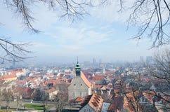 Ciudad vieja de Bratislava Fotos de archivo