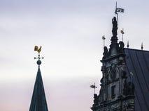Ciudad vieja de Bremen Fotografía de archivo