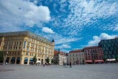 Ciudad vieja de Brno Fotos de archivo