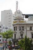 Ciudad vieja de Bucarest Fotos de archivo libres de regalías