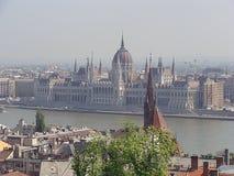 Ciudad vieja de Budapest Fotos de archivo libres de regalías