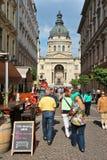 Ciudad vieja de Budapest Imagen de archivo libre de regalías