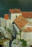 Ciudad vieja de Budva Imagen de archivo libre de regalías