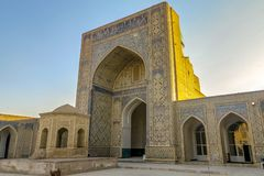 Ciudad vieja 112 de Bukhara fotografía de archivo
