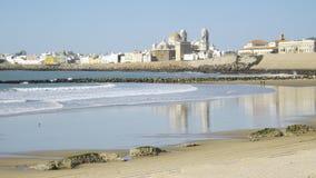 Ciudad vieja de Cádiz Imágenes de archivo libres de regalías