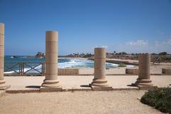 Ciudad vieja de Caesarea, Israel Fotos de archivo