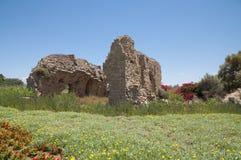 Ciudad vieja de Caesarea, Israel Foto de archivo