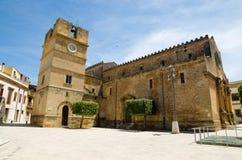 Ciudad vieja de Castelvetrano, isla de Sicilia imagen de archivo