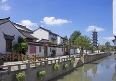 Ciudad vieja de China en Shangai Fotografía de archivo libre de regalías