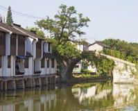 Ciudad vieja de China en Shangai Imagen de archivo libre de regalías