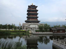 Ciudad vieja de China, Pekín Fotos de archivo