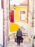 Ciudad vieja de Coimbra, Portugal Imagen de archivo libre de regalías