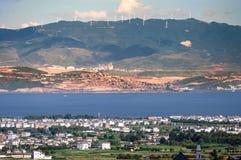 Ciudad vieja de Dali Foto de archivo