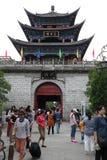 Ciudad vieja de Dali del edificio de Wuhua Imagenes de archivo