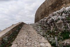 Ciudad vieja de Deva Fotos de archivo libres de regalías