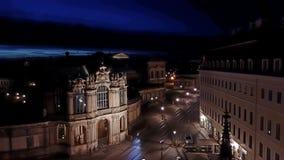 Ciudad vieja de Dresden fotografía de archivo
