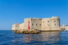 Ciudad vieja de Dubrovnik Foto de archivo