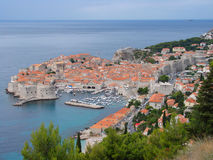 Ciudad vieja de Dubrovnik Imágenes de archivo libres de regalías