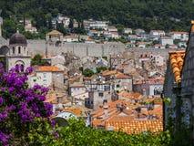 Ciudad vieja de Dubrovnik Foto de archivo libre de regalías