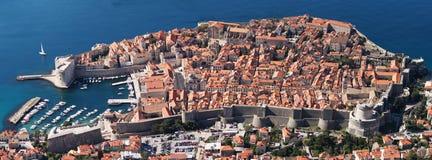 Ciudad vieja de Dubrovnik Imagenes de archivo