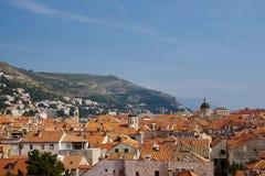 Ciudad vieja de Dubrovnik Imagen de archivo