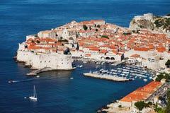 Ciudad vieja de Dubrovnik, Croatia Fotografía de archivo libre de regalías