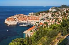 Ciudad vieja de Dubrovnik, Croatia Foto de archivo libre de regalías