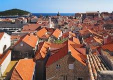Ciudad vieja de Dubrovnik, Croatia Imagen de archivo libre de regalías