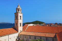 Ciudad vieja de Dubrovnik, Croatia Imágenes de archivo libres de regalías