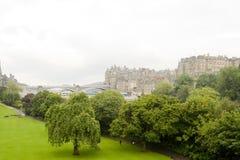 Ciudad vieja de Edimburgo, Escocia Foto de archivo libre de regalías