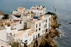 Ciudad vieja de Eivissa Foto de archivo libre de regalías