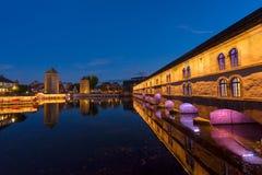 Ciudad vieja de Estrasburgo, Francia Imágenes de archivo libres de regalías
