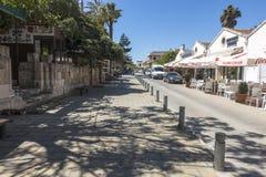 Ciudad vieja de Famagusta Gazimagusa, Chipre Fotografía de archivo libre de regalías