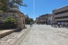Ciudad vieja de Famagusta Gazimagusa, Chipre Imagenes de archivo